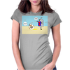 BB8 and Bobby deBot Womens Fitted T-Shirt