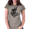 Bboy Drawing turntable Womens Fitted T-Shirt