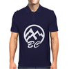 BC Mountains British Col Mens Polo