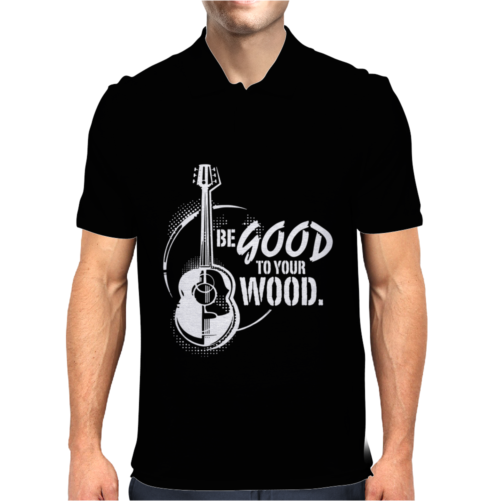 Be good to your wood Mens Polo