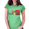 Be Indio David Lee Roth 2 Womens Fitted T-Shirt