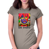 BE INDIO David Lee Roth Womens Fitted T-Shirt
