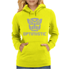 Be optimistic transformers - robot optimus prime movie autobots show tee Womens Hoodie