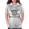 Be optimistic transformers - robot optimus prime movie autobots show tee Womens Polo