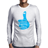 Be positive Mens Long Sleeve T-Shirt