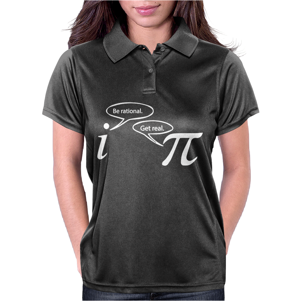 Be Rational Get Real Womens Polo