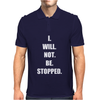 Be stopped Mens Polo