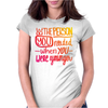 Be that Person Womens Fitted T-Shirt