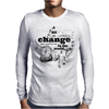 Be the change Mens Long Sleeve T-Shirt