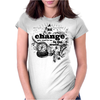Be the change Womens Fitted T-Shirt