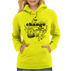 Be the change Womens Hoodie