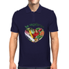 BE VEGETARIAN Mens Polo