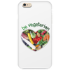 BE VEGETARIAN Phone Case