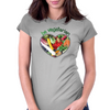 BE VEGETARIAN Womens Fitted T-Shirt