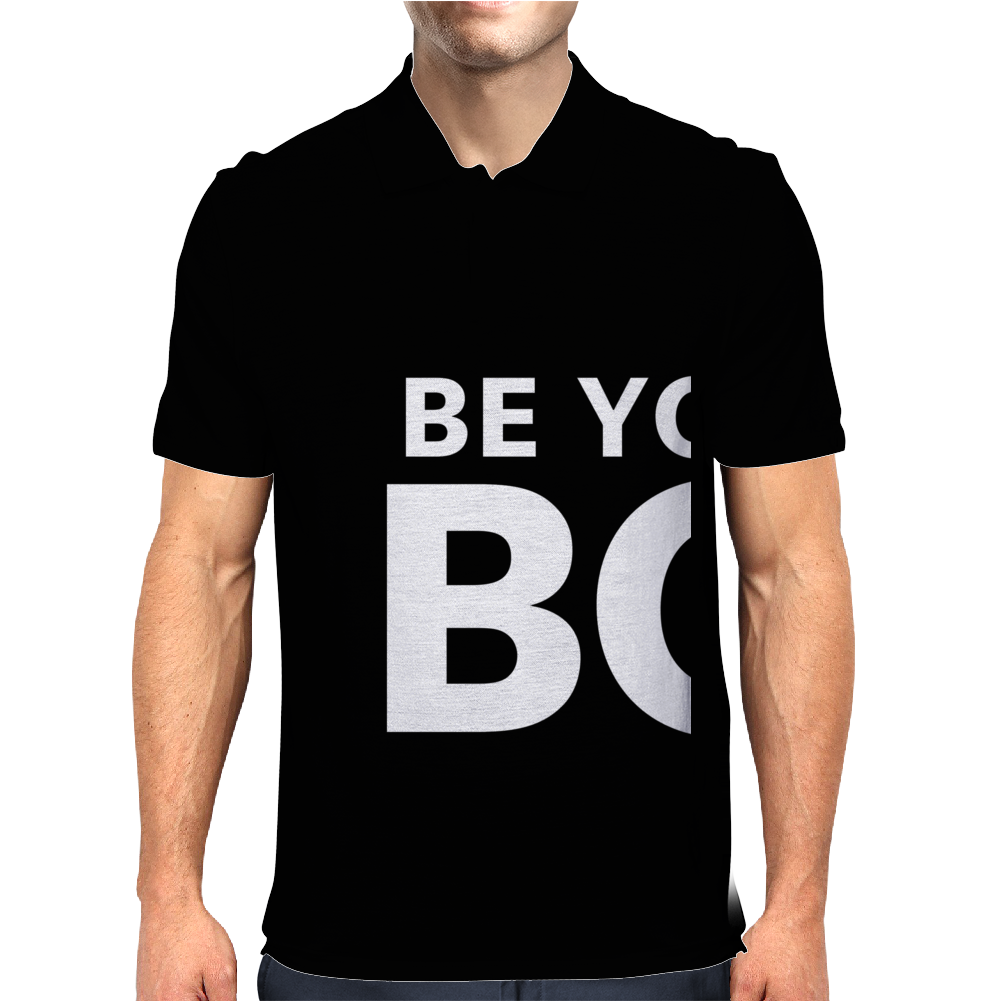 be your own boss Mens Polo