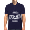 Be Yourself Be A Rockstar Mens Polo