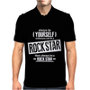Be Yourself Unless You Can Be A Rock Star Mens Polo