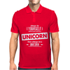 Be Yourself Unless You Can Be A Unicorn Mens Polo