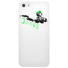 beach crushing green/black Phone Case