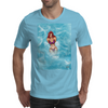 Beach Lady Mens T-Shirt