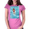 Beach Lady Womens Fitted T-Shirt