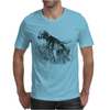 Beagle Dog Breed Art Mens T-Shirt
