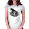 Beagle Dog Breed Art Womens Fitted T-Shirt