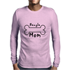 Beagle Mom 2 Mens Long Sleeve T-Shirt
