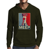 Beaker Meep Poster, Ideal Birthday Gift Or Present Mens Hoodie