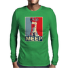 Beaker Meep Poster, Ideal Birthday Gift Or Present Mens Long Sleeve T-Shirt