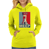 Beaker Meep Poster, Ideal Birthday Gift Or Present Womens Hoodie