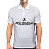 BEAM ME UP SCOTTY Mens Polo