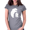 Bear and Beer Keg Womens Fitted T-Shirt