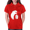 Bear and Beer Keg Womens Polo