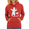 Bear Grills BBQ Funny Womens Hoodie