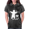 Bear Grills BBQ Funny Womens Polo