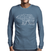 Bear Made Mens Long Sleeve T-Shirt