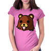 Bear Meme Womens Fitted T-Shirt