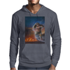 Bear To The Future Mens Hoodie