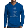 Beard Growth Chart Mens Hoodie