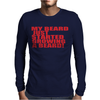BEARD JUS STARTED Mens Long Sleeve T-Shirt