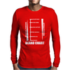 Beard Length Chart Mens Long Sleeve T-Shirt