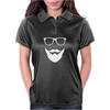 Beard Man Womens Polo