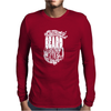 Beard Mens Long Sleeve T-Shirt