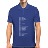 Beard Scale Mens Polo