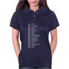 Beard Scale Womens Polo