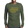 Beard Wars May The Fuzz Be With You Mens Long Sleeve T-Shirt