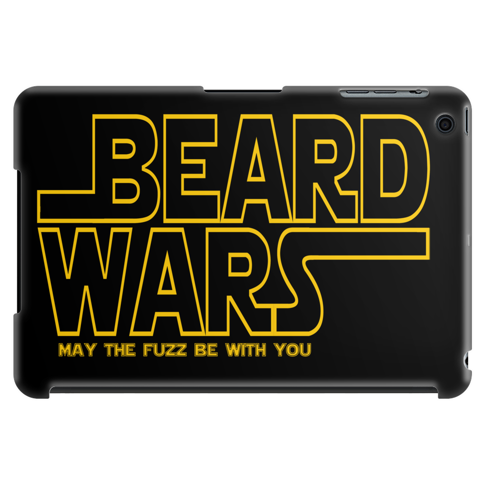 Beard Wars May The Fuzz Be With You Tablet (horizontal)
