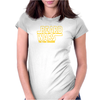 Beard Wars The Fuzz Awakens Men's Funny Beard Sci-fi Womens Fitted T-Shirt