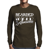 Bearded Inked & Awesome Mens Long Sleeve T-Shirt
